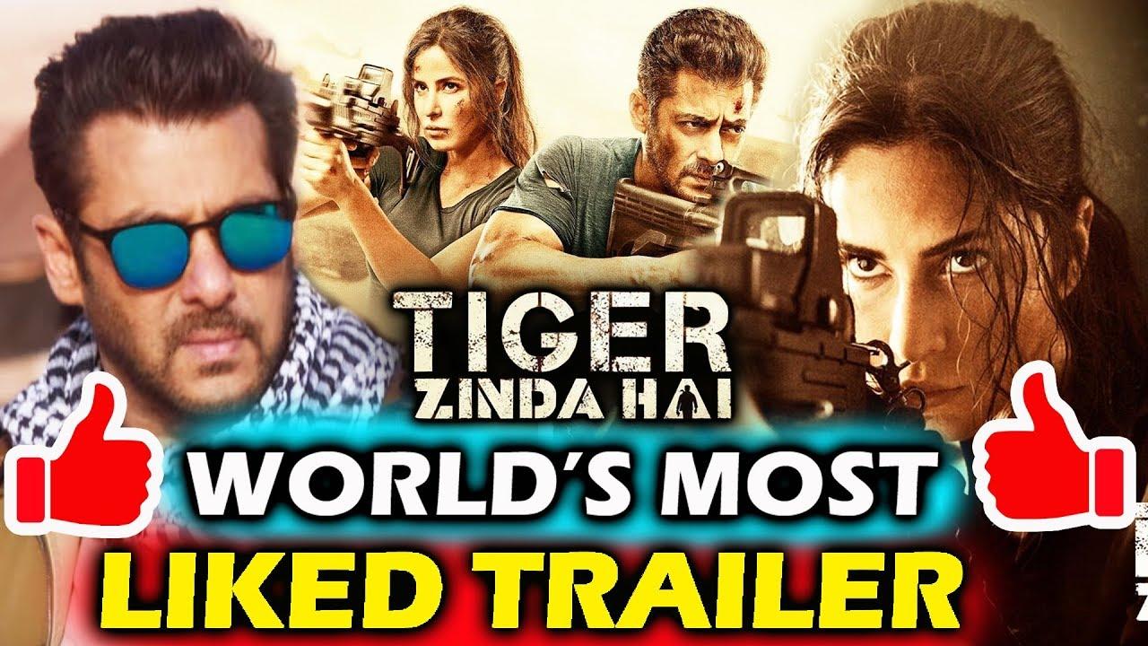 tiger zinda hai sets world record most liked trailer in history salman khan katrina kaif