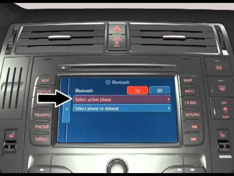 ford touchscreen navigation system nx activation of connected mobile phone youtube. Black Bedroom Furniture Sets. Home Design Ideas