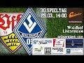 30.Spieltag: VfB Stuttgart II - SV Waldhof