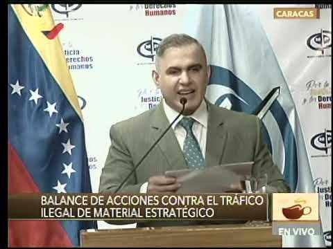 Ministerio Público de Venezuela ha incautado más de 4 millones de dólares en material estratégico