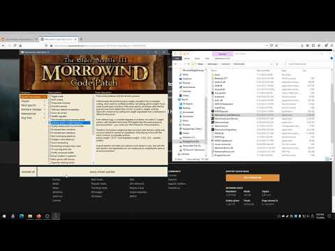 How To Install Morrowind Code Patch and MGEXE