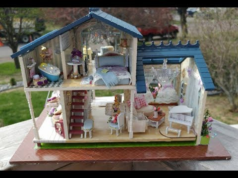 Provence Lavender Doll House I Built From A Kit
