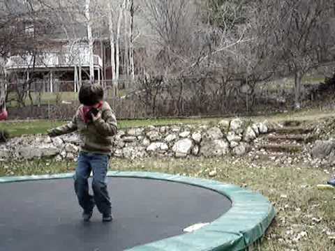 Autism boy playing outside - Zane: ASEA week 1