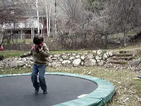 Autism boy playing outside - Zane: ASEA week 1