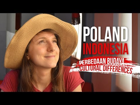 Perbedaan Budaya / Cultural Differences Indonesia Poland - Globe in the Hat #4