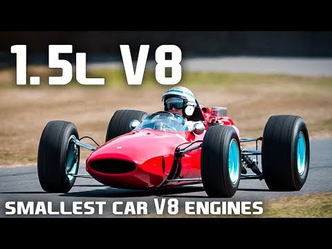 10 Of The Smallest Car V-8 Engines Ever