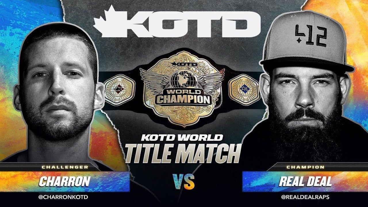 Download KOTD - Rap Battle - Real Deal vs Charron (Title Match)   #GP2020