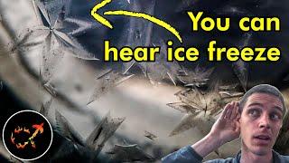 The Sound of Freezing: Explained!
