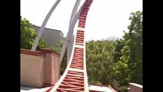 Hersheypark - Storm Runner POV front seat ride 2012 Hershey Park steel rollercoaster roller coaster
