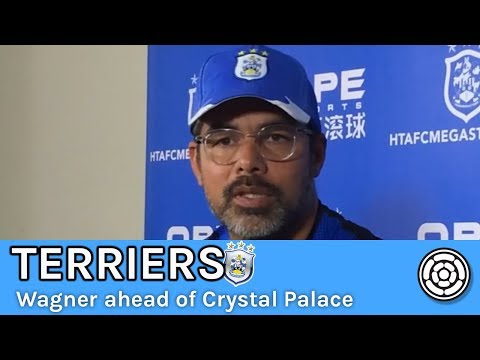Terriers   David Wagner ahead of Crystal Palace