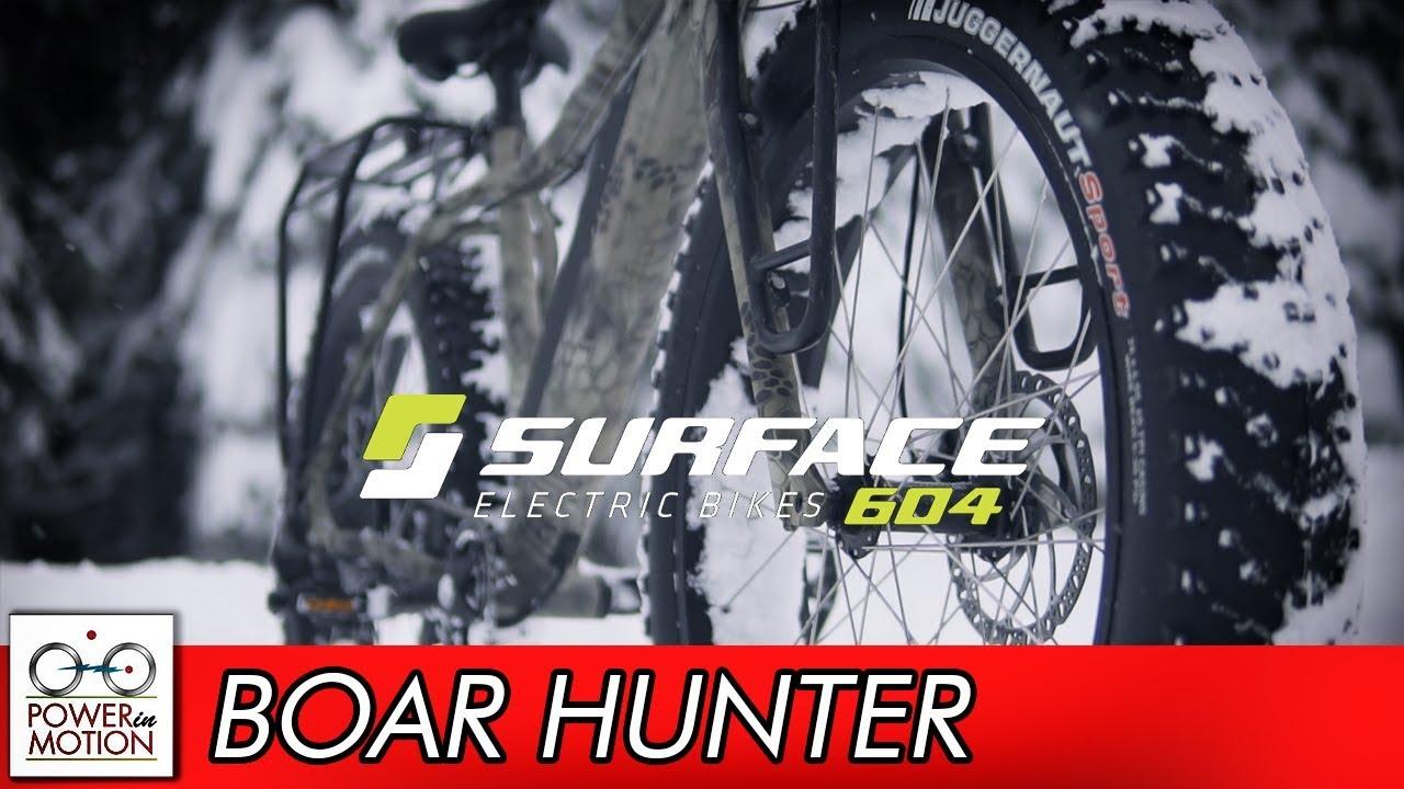 MAJOR UPGRADES!! Surface 604 Boar Hunter Fatbike