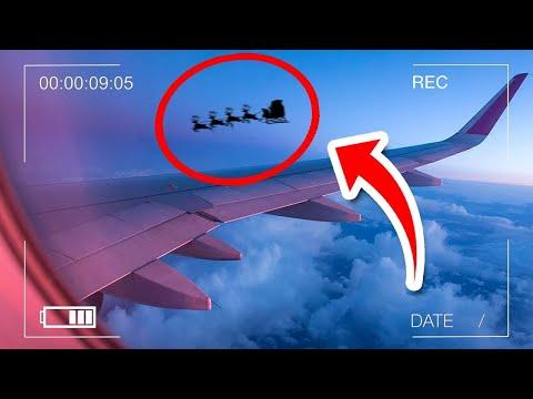 5 Weihnachtsmänner auf Kamera aufgenommen!