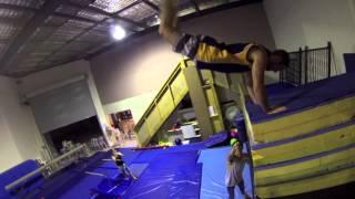 Kruse Gymnastics and Dance Academy Freerunning session
