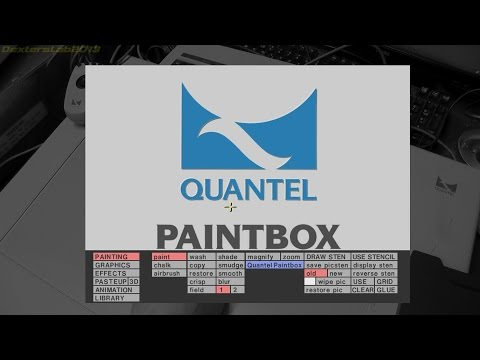 DL#113 - 1990s Quantel V-Series Paintbox Tour