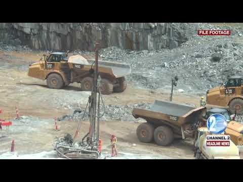 MINING PIT COLLAPSE KILLS GEOLOGIST