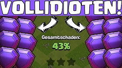VOLLIDIOTEN IN LEGEND LEAGUE! * Clash of Clans * CoC