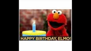 HAPPY BIRTHDAY ELMO - ELMO SINGS BIRTHDAY SONG.wmv