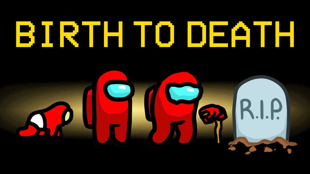 BIRTH TO DEATH Mod in Among Us! (Growing Up Mod)
