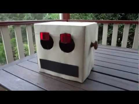 How to make a robot head or box head diy step by step how to make a robot head or box head diy step by step instructions made from everyday items youtube solutioingenieria Gallery