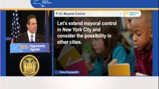 Governor Cuomo Presents 2015 Opportunity Agenda