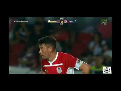 Veracruz vs Toluca 2-3 Highlights football hd 2018