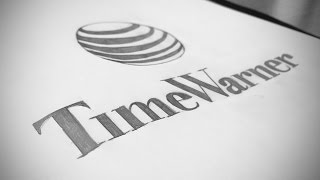 AT&T Acquires Time Warner | Mashup Freehand Logo Drawing