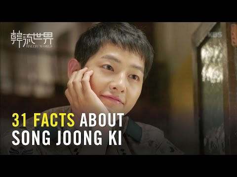 31 FACTS About Song Joong Ki! (Special Edition)  31歲宋仲基的31件事 你都知道嗎?