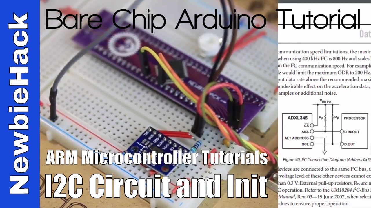 58  How to: I2C Circuit and Initialization - ARM STM32 Microcontroller  Tutorial