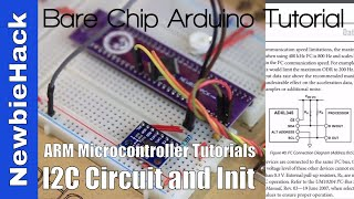 58. How to: I2C Circuit and Initialization - ARM STM32 Microcontroller Tutorial