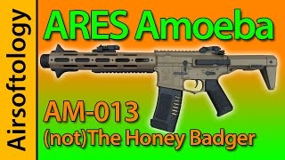Ares AM 013 Not The Honey Badger Amoeba Review Airsoftology