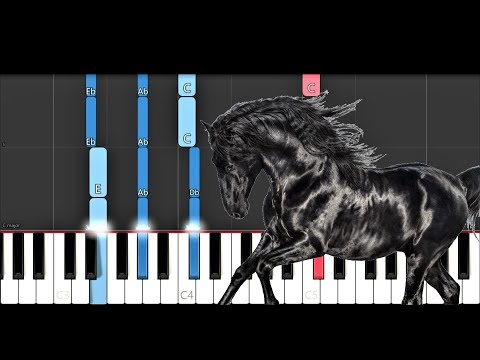 Lil Nas X - Old Town Road I Got The Horses In The Back Piano Tutorial