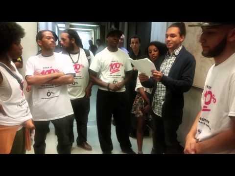 Boston residents protest new housing development