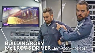 Building Rory McIlroy's Driver with TaylorMade Golf at The British Masters