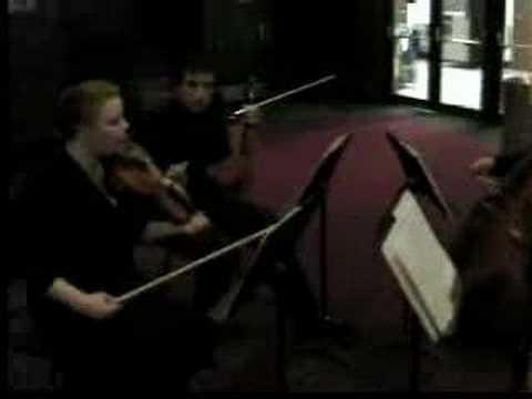 IPY Crowd after Dava Sobel presentation - Classical Quartet