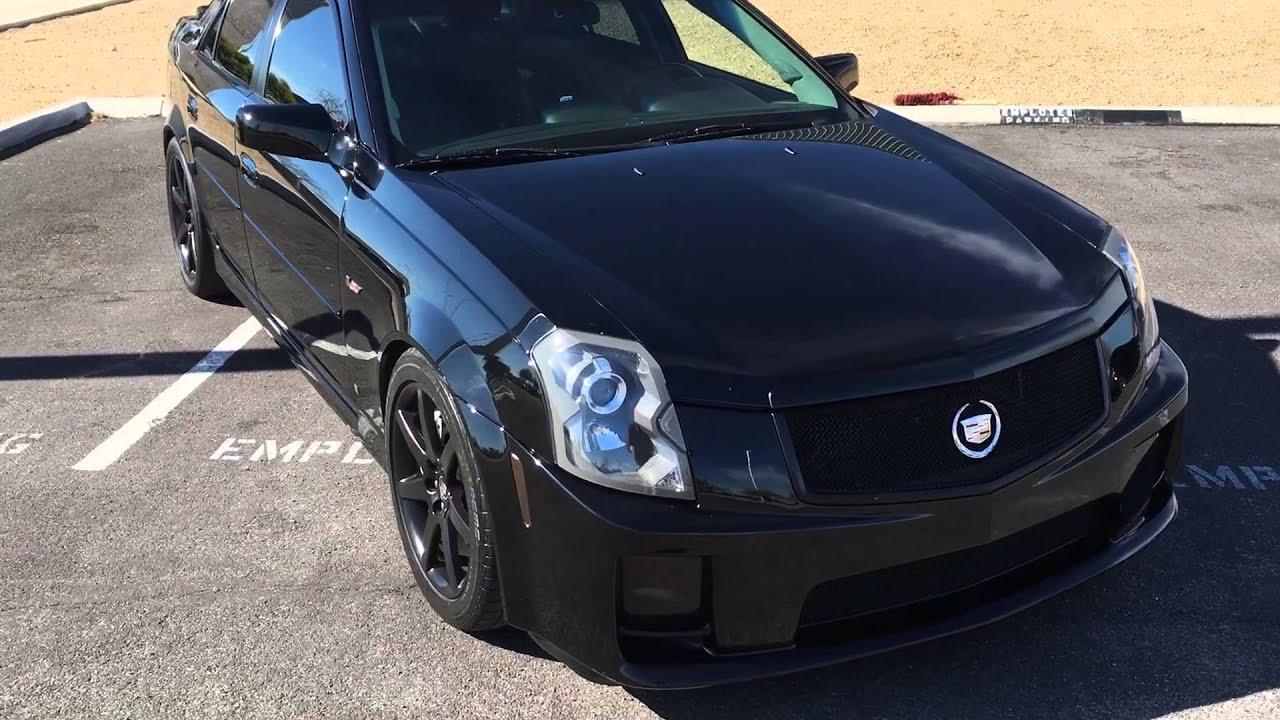 2007 Cadillac CTS-V cammed - YouTube
