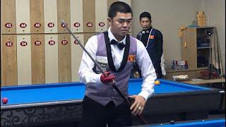 Nguyễn Quốc Nguyện vs Hoàng Phi Long. Billiards Út Nhi Cup