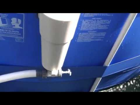 Diy Intex Sand Filter Conversion Youtube