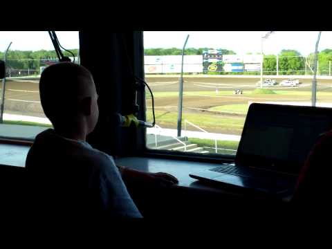 Bobby Blowers Junior Announcer Deer Creek Speedway