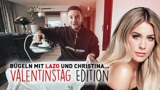 Bügeln mit Lazo und Christina... Valentinstag Edition