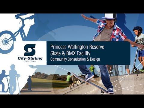 Princess Wallington Reserve BMX and Skate Facility