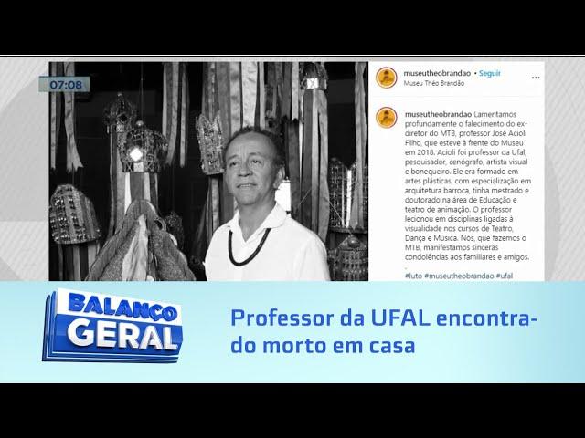Possivel latrocínio: Professor da UFAL encontrado morto em casa