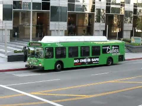 Detroit Diesel Series 50G -  Culver City Bus, Detroit Diesel Series 50 Santa Monica Blue Bus