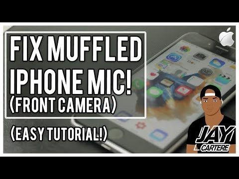 How To Fix An Iphone Led Mic Front Camera