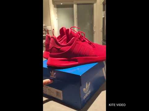 ADIDAS X_PLR TACTILE RED - YouTube