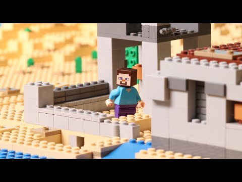 The Desert Outpost - LEGO Minecraft - Stop Motion