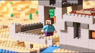 The Desert Outpost - LEGO Minecraft - Stop Motion thumbnail