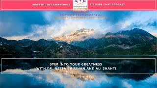 IA Fireside Chat: Step Into Your Greatness with Ali Shanti, Founder of Eyes Wide Open