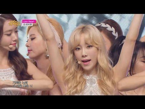 【TVPP】 SNSD - Lion Heart, 소녀시대 – 라이언 하트  @Show! Music core