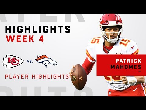 Patrick Mahomes' MILE HIGHlight Reel from Week 4