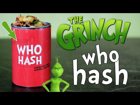 How to Make WHO HASH from the Grinch